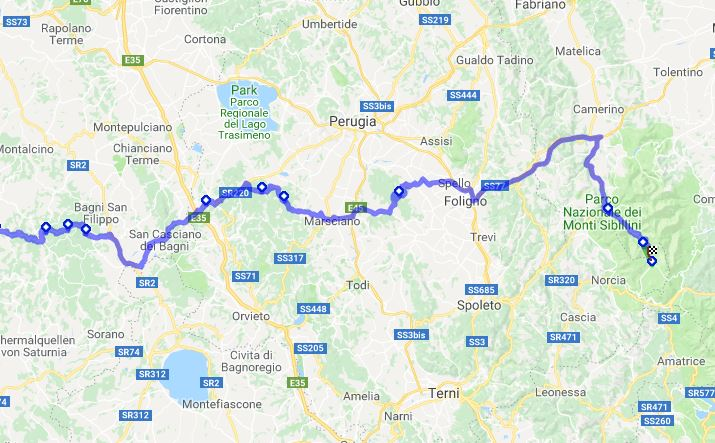 Motorad Reiseplanung