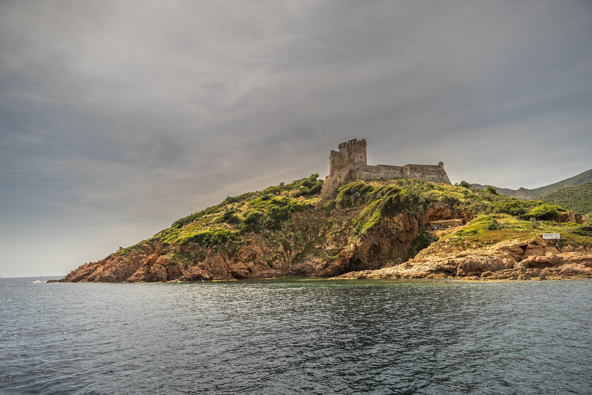 Sardinien Motorradurlaub Bucht