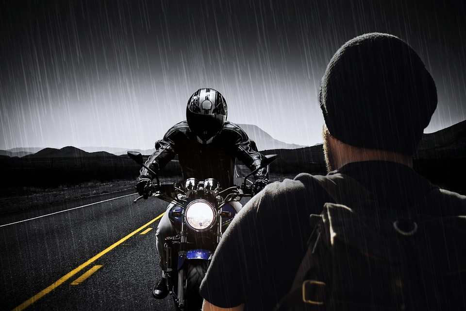 Motorrad Rucksack Test