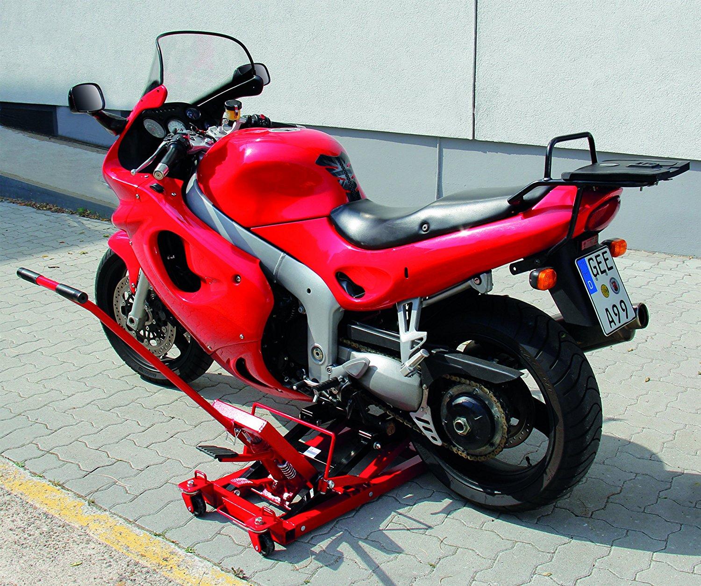 Motorradhebebühne Test