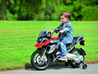 Kindermotorrad Elektro Test