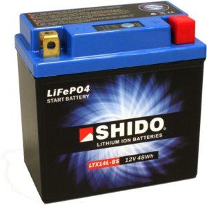 Motorrad Batterie Shido Lithium