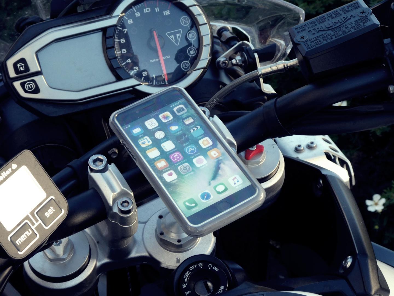 IPhone-Halterung im Test (wasserdicht)