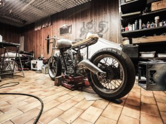 motorrad kette spannen