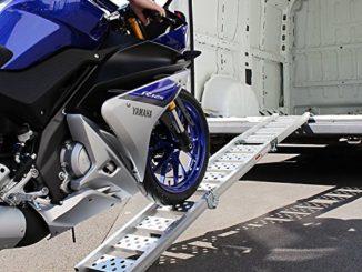 Auffahrrampe Motorrad Test