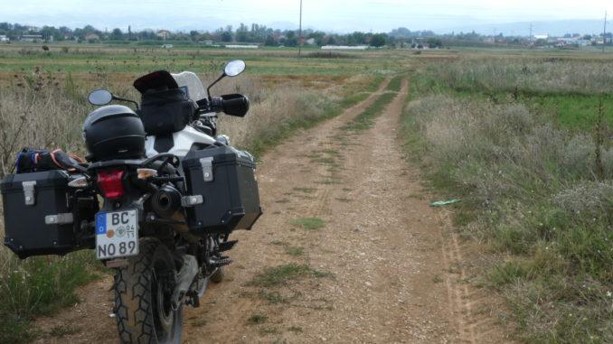 Motorradreifen Test für Reiseenduro