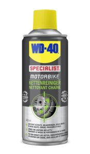 WD40 Motorrad Kettenreiniger Test
