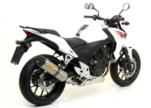 Honda CBR500R Auspuff