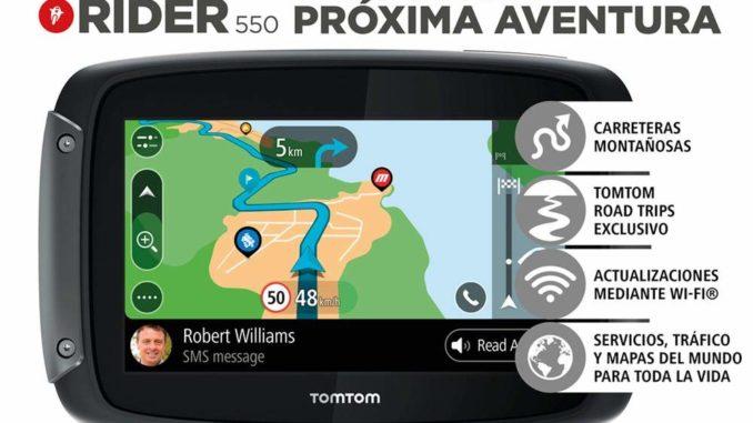 TomTom Rider 550 Test