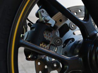 Motorrad Bremsscheibe Test