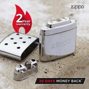 Zippo Handwärmer Luxus Geschenk für Motorradfahrer