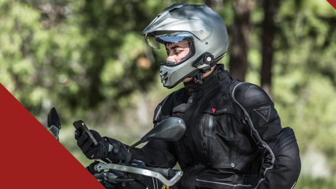 Motorrad Headset Test