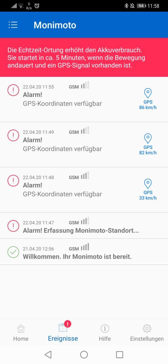 GPS-Ortung und Echtzeitortung