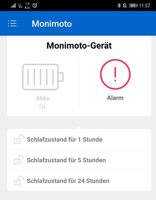 MoniMoto GPS Alarm